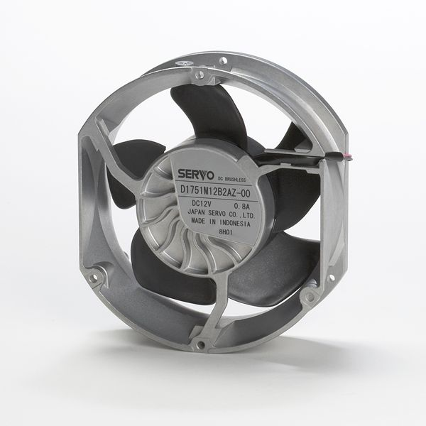 DC Axial Fans On Japanese Products Corp
