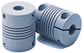Helical W Series Aluminum Couplings